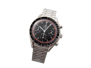 Limited Omega Speedmaster Black & Red Schumacher Watch