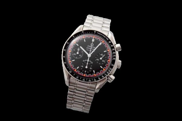 Limited Omega Speedmaster Black & Red Schumacher Watch