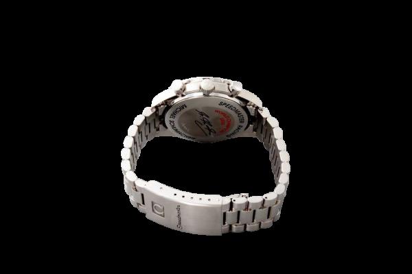 Lot #3203 Limited Omega Speedmaster Black & Red Schumacher Watch