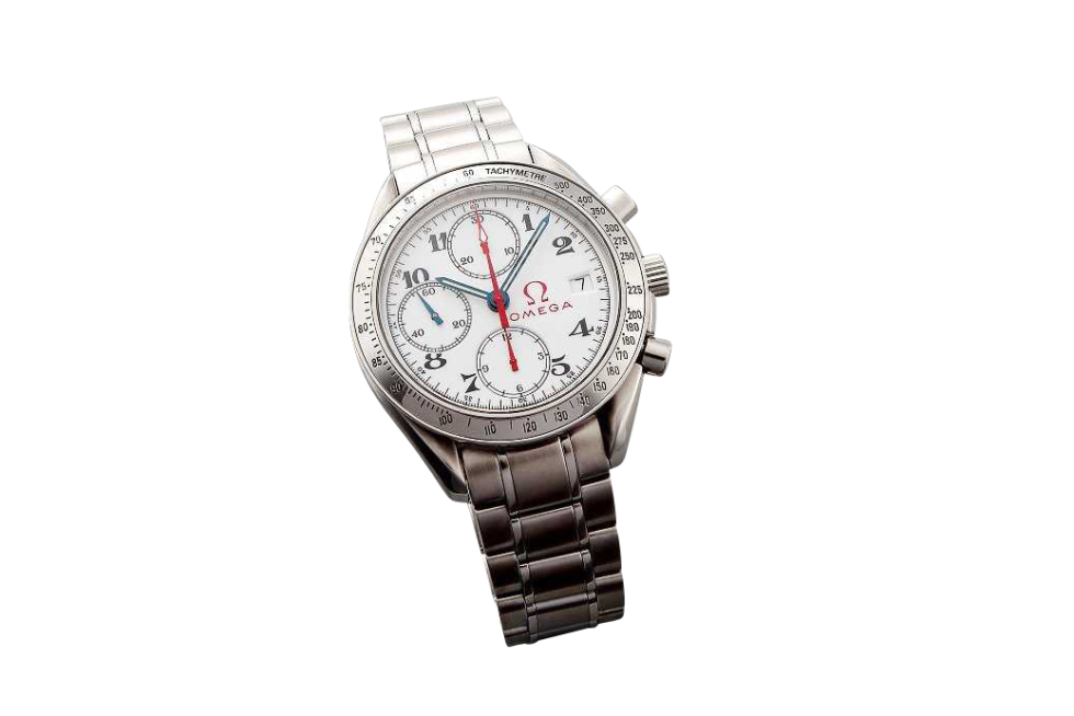 Lot #3204 Special Edition Omega Speedmaster Date Chronograph Auction Auction
