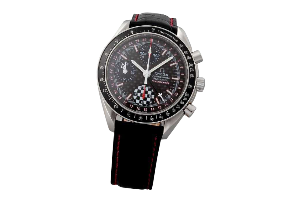 Lot #3207 Limited Michael Schumacher Omega Triple Calendar Watch Auction Auction