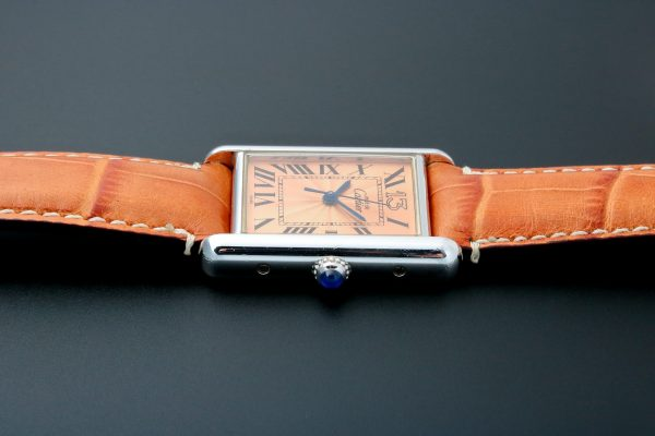 Cartier Tank 13 Sterling Silver Anniversary Watch - Baer Bosch Auctioneers