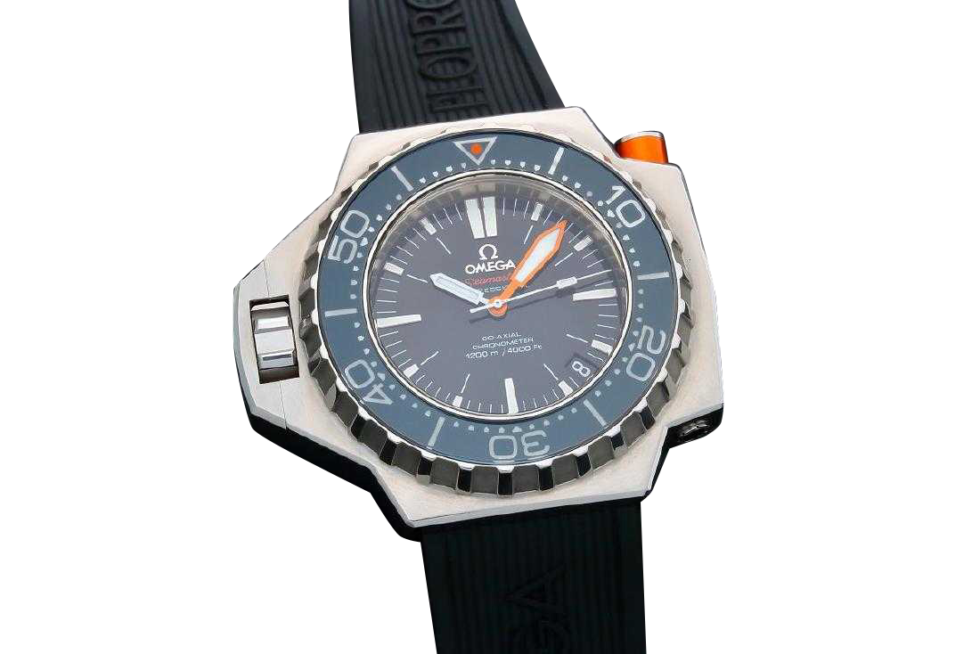 Lot #3218B Men`s Omega Seamaster Ploprof Co-Axial 1200M Dive Auction Auction