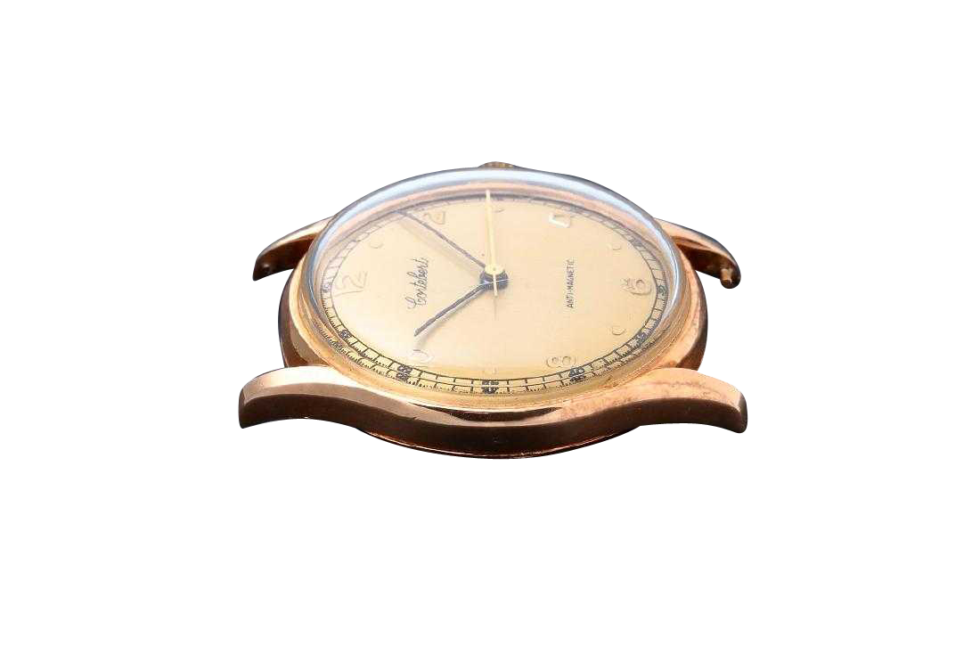 Lot #3222 Vintage Gents 18K Yellow Gold Cortebert Wristwatch Auction Auction