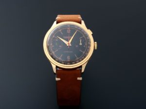Eberhard & Co Extra Fort One Button Chronograph Watch 18k Yellow Gold - Baer & Bosch Auctioneers