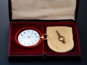 Le Roy 18k Yellow Gold Turkish Market Pocket Watch - Baer & Bosch Auctioneers