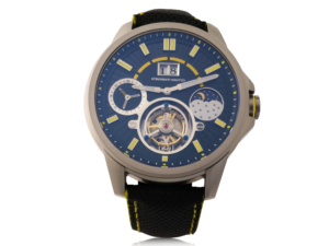Strumenti Nautici Tourbillon Watch Nero Giallo #SNS02.01.053