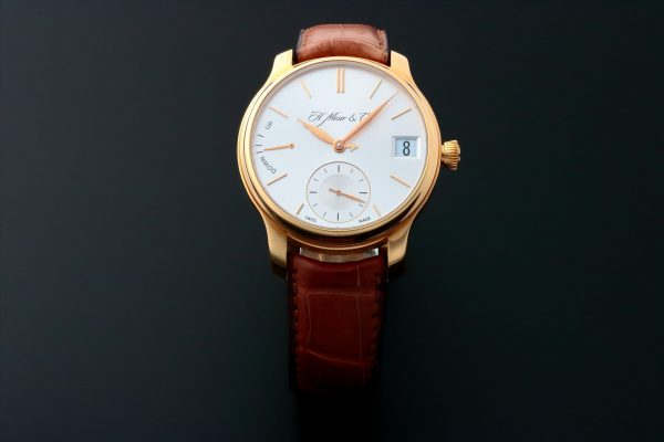 18k Rose Gold H. Moser & Cie Perpetual Calendar Watch 341.501.004 - Baer & Bosch Auctioneers