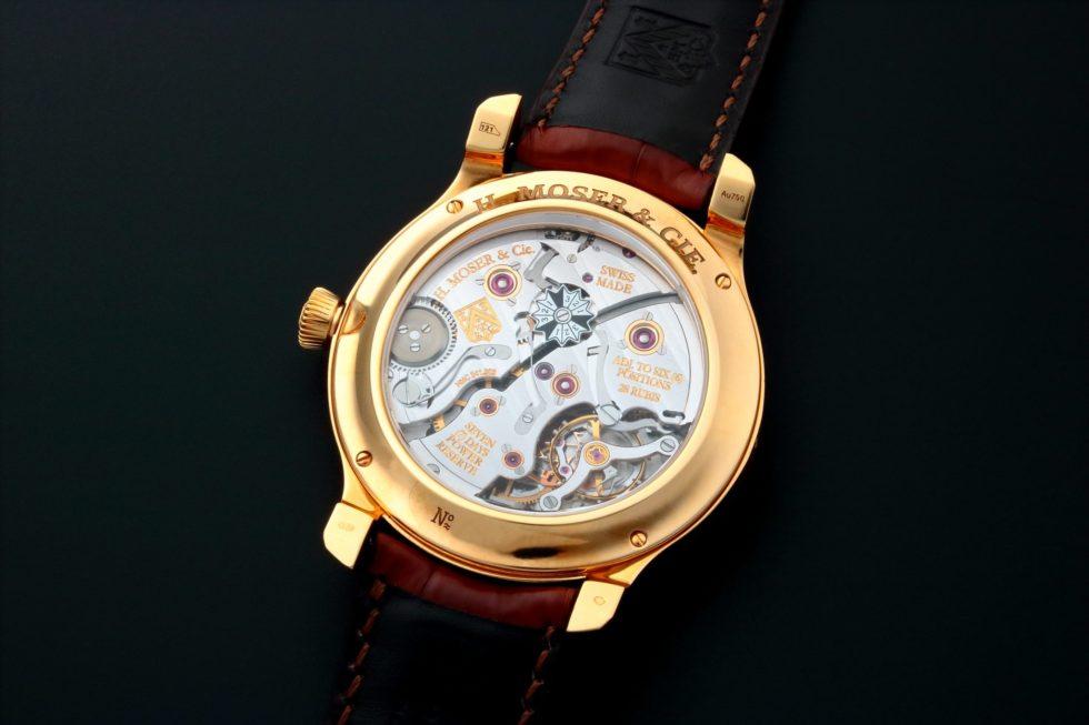 Lot #3226 – H. Moser & Cie Perpetual Calendar Watch 341.501.004 H. Moser & Cie Endeavour