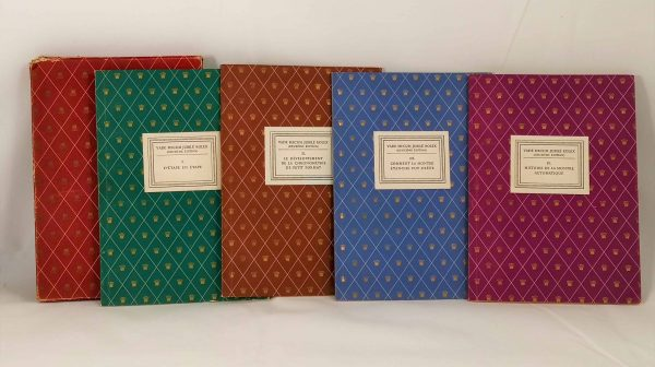Rolex Jubilee Vade Mecum French Book Set - Baer Bosch Auctioneers