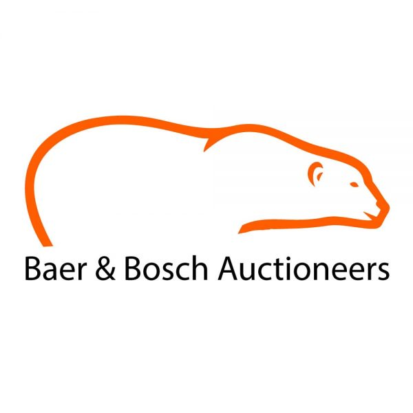 Baer & Bosch Auctioneers Logo Placer