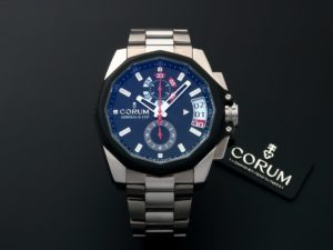 Corum Admirals Cup Regatta 45 Chronograph Watch 040.101.04-V200 AN10 - Baer & Bosch Auctioneers