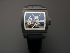Corum Ti-Bridge Tourbillon Watch 022.704.94-0F81-0000 - Baer & Bosch Auctioneers