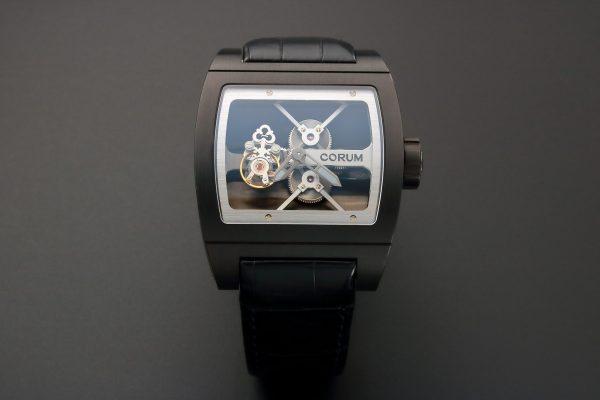 Corum Ti-Bridge Tourbillon Watch 022.704.94-0F81-0000 - Baer & Bosch Auctioneers