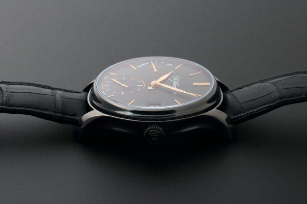 H. Moser & Cie Endeavour Perpetual Calendar Black DLC Titanium 341.050-020 - Baer & Bosch Auctioneers