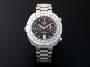 Heuer Calculator Chronograph Watch 110.633N