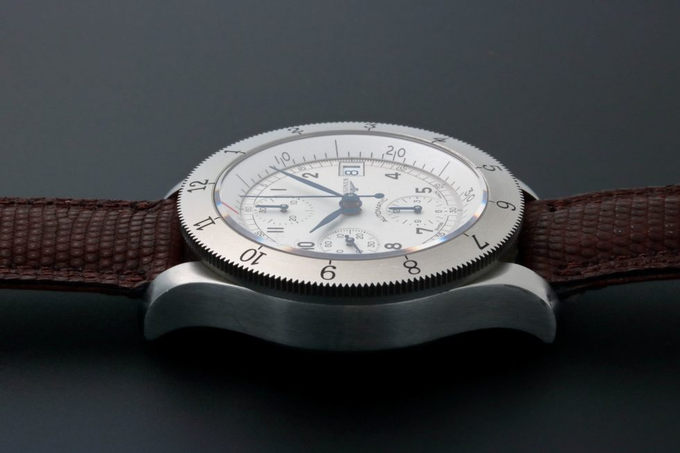 Lot #3154 – Longines Heritage Weems Chronograph Watch L2.741.4.73.2 Heritage Collection Chronograph