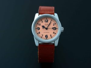 Rare MHR Mahara Salmon Dial Watch - Baer & Bosch Auctioneers