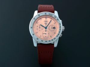 Lot #3148 – Rare Men's Mahara MHR Chronograph Date Watch