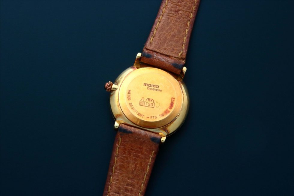 Momo Design 18k Yellow Gold Watch – Baer & Bosch Auctioneers
