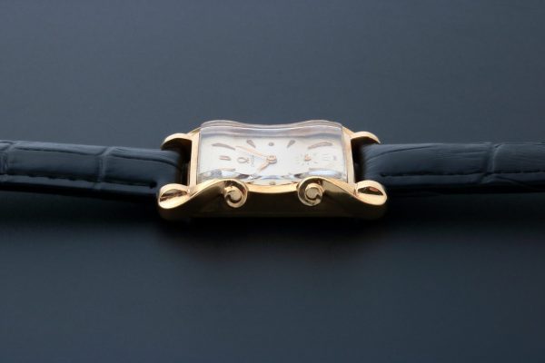 Vintage 14k Yellow Gold Omega Fancy Lugs Watch Case - Baer & Bosch Auctioneers