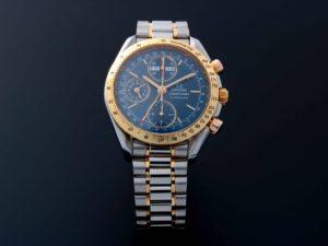 Omega Speedmaster Chronograph Triple Calendar Tutone Watch 3321.80 - Baer & Bosch Auctioneers