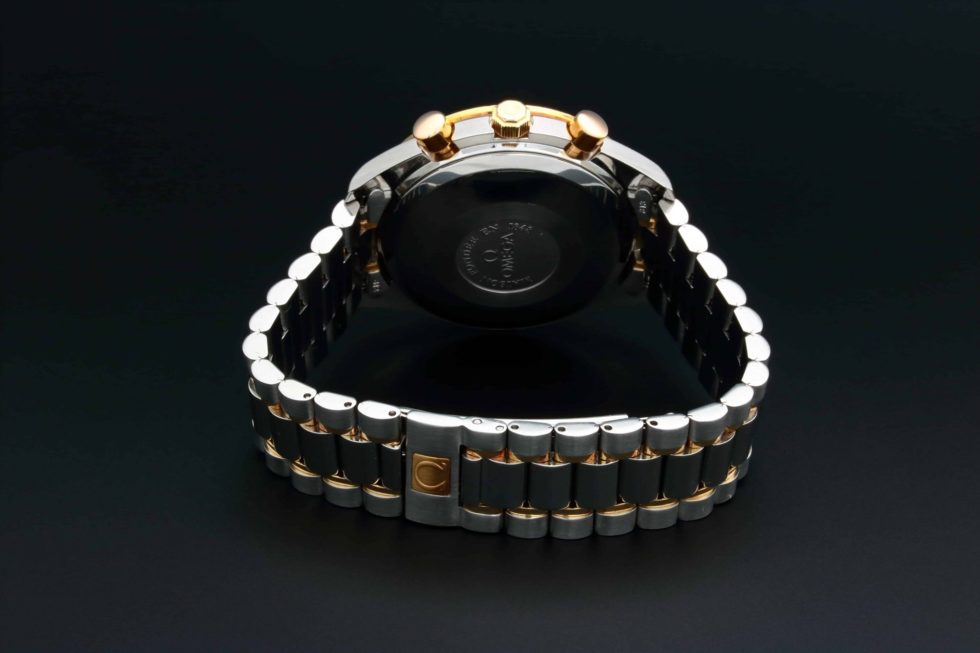 Lot #3240A – Omega Speedmaster Chronograph Triple Calendar Watch 3321.80 Omega Omega