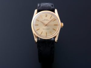 Lot #6736 – Rolex Bombay Oyster Perpetual Watch 1010 Oyster Perpetual Dress Watch