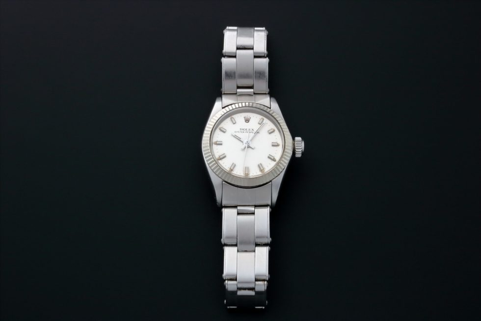 Lot #3151A – Rolex Oyster Perpetual Watch 6619 Ladies Rolex