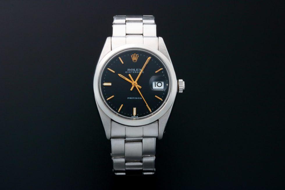 Lot #3223A – Rolex Oysterdate Precision Watch 6694 Oysterdate Rolex