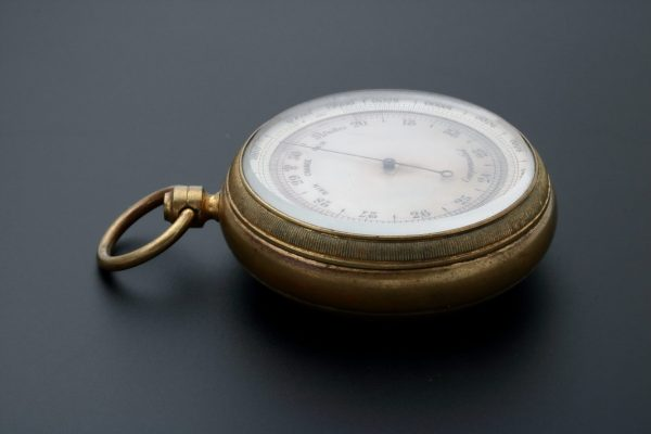 Aneroid Compensated Pocket Barometer - Baer & Bosch Auctioneers