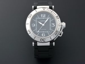 Lot #7753 – Cartier W31077U2 Pasha Seatimer Watch 2790 Cartier 2790