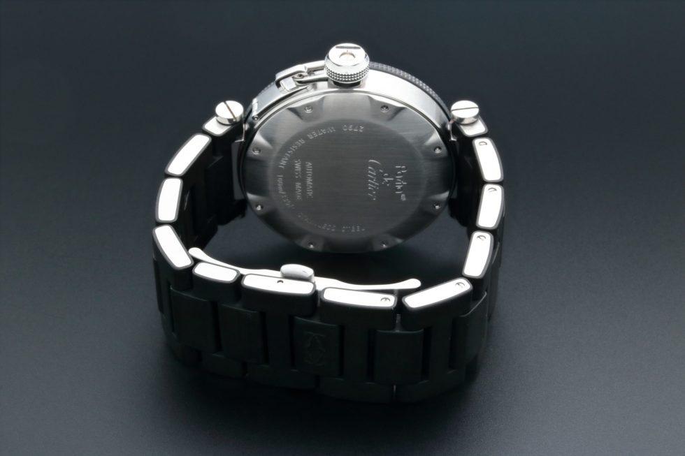 Lot #3224A – Cartier Pasha Seatimer Watch W31077U2 Cartier Cartier