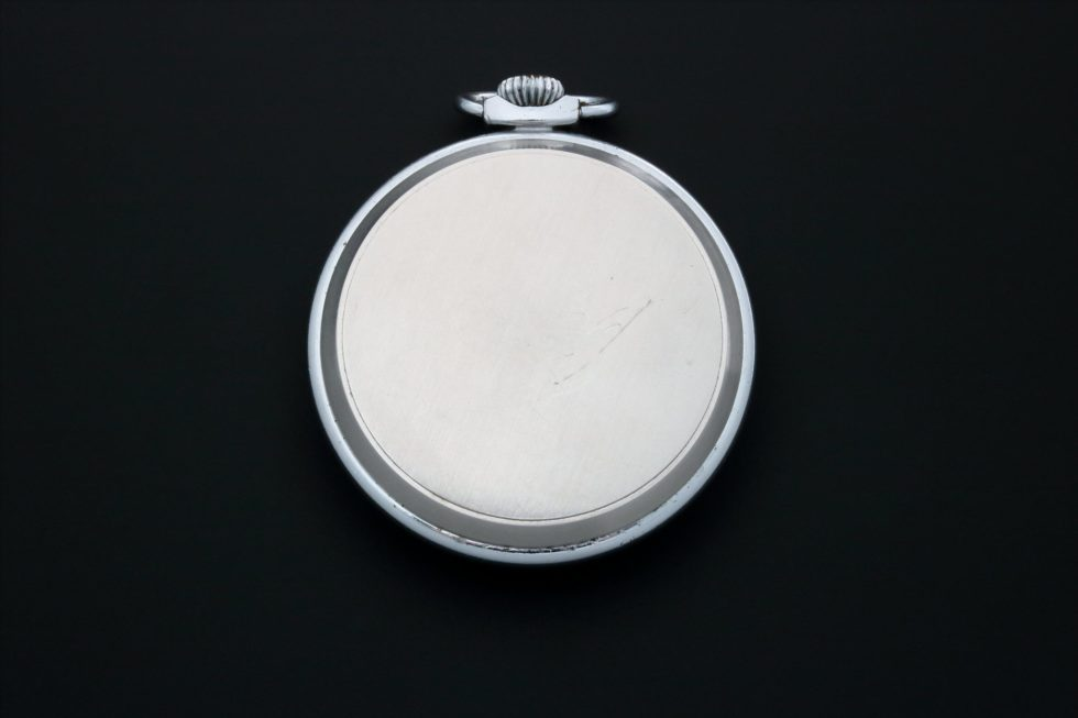 Lot #3849 – Omega Pocket Watch Vintage Deco Style Dial Omega Art Deco