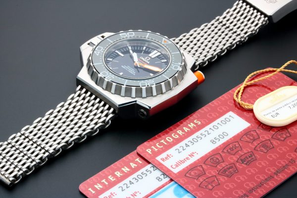 Omega Seamaster Ploprof Co-Axial 1200M Watch 224.30.55.21.01.001 - Baer & Bosch Auctioneers