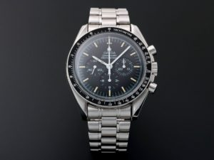 Lot #10964 – 20th Anniversary Omega Speedmaster Apollo XI 1969 Moon Watch ST145.022 Moon Chronograph