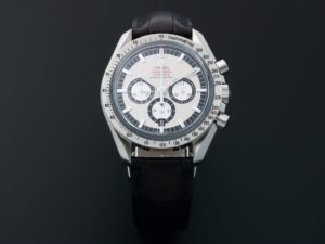 Omega Speedmaster Michael Schumacher Legend Chronograph Watch 3806.31.31 - Baer & Bosch Auctioneers