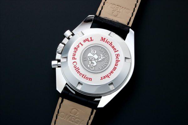Omega Speedmaster Michael Schumacher Legend Chronograph Watch 3806.31.31 - Baer & Bosch Auctioneers