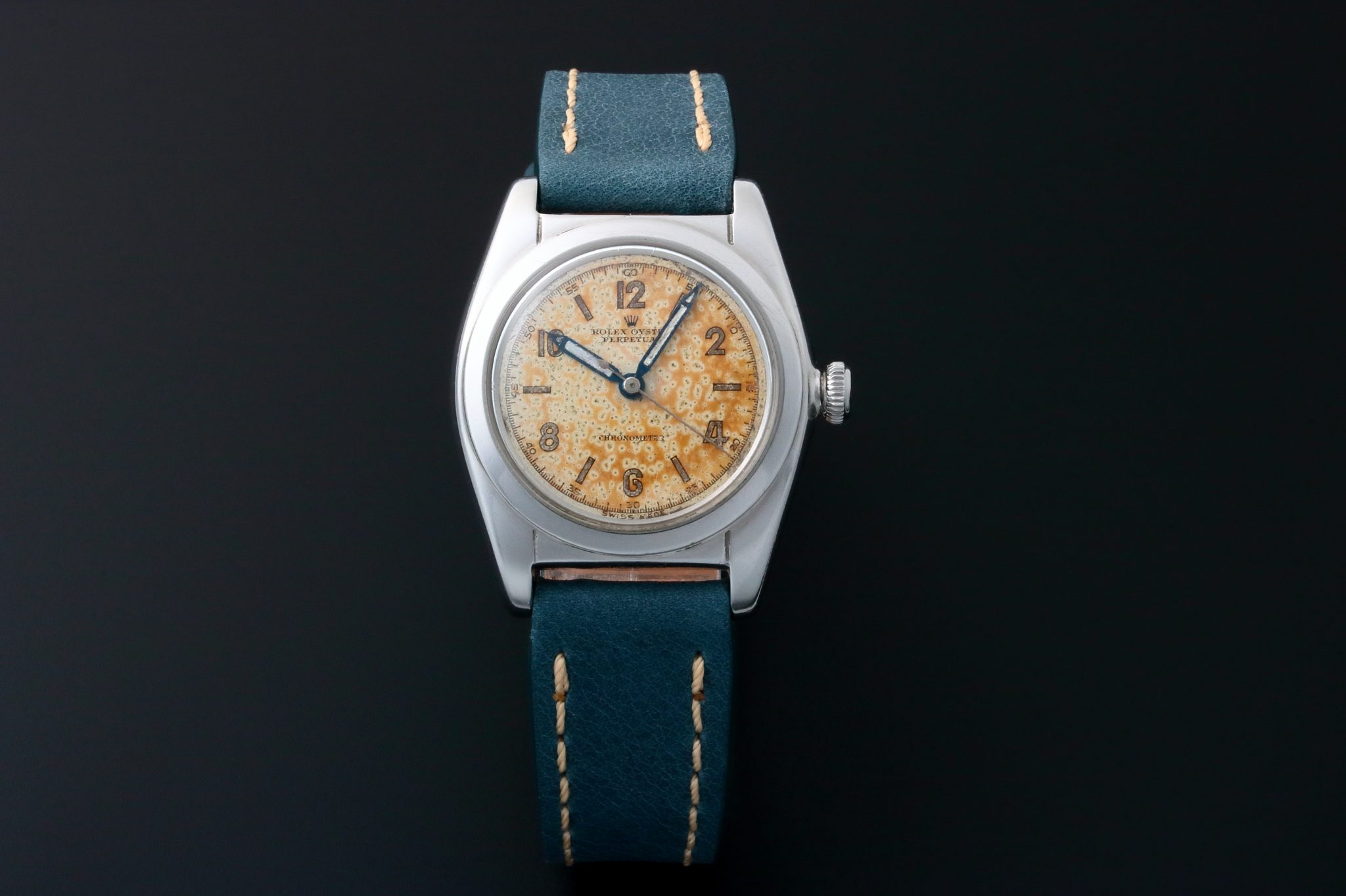 Lot 3208 , Rolex Bubbleback Chronometer Watch 2940 ⋆ Watch
