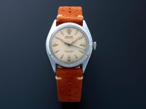 Rolex Semi Bubbleback Oyster Perpetual Watch 6085 - Baer & Bosch Auctioneers