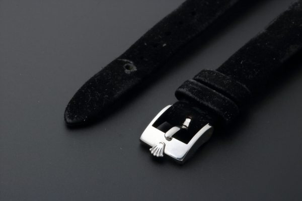 Rolex Velvet Leather Watch Strap 14MM - Baer & Bosch Auctioneers