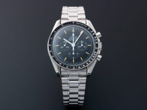 Lot #5642 – Limited Edition Omega Speedmaster Apollo 11 25th Anniversary Moon Watch 3591.50.00 Moon Chronograph