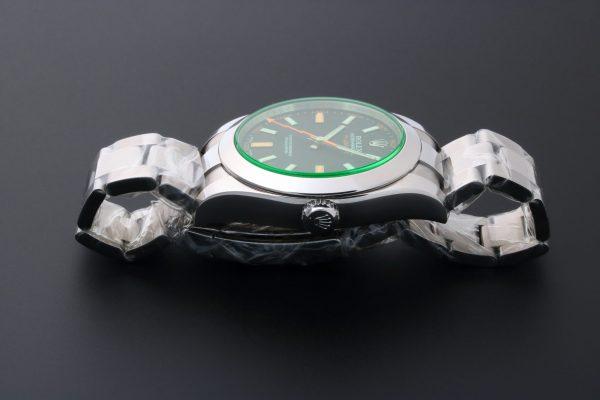 Rolex Milgauss Green Sapphire Watch 116400GV - Baer & Bosch Auctioneers