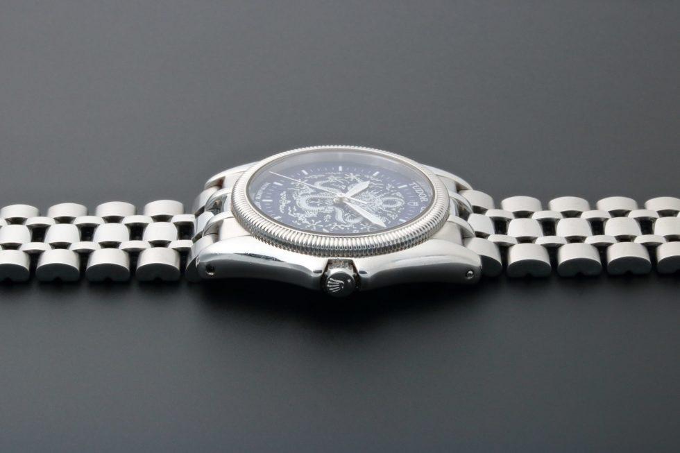 Lot #3229 – Tudor Dragon Monarch Date Watch 38630 Monarch Tudor