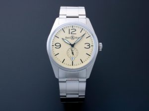 Bell Ross Original Beige Watch BRV123-BEI-ST SST - Baer Bosch Auctioneers