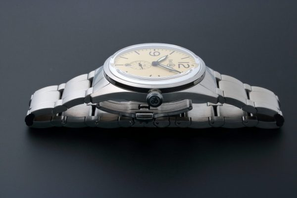 Bell Ross Original Beige Watch BRV123-BEI-ST SST - Baer Bosch Auctioneers