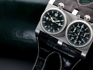 Lot #6254 – Chronoswiss Wristmaster Chronograph Watch CH-2703 Chronoswiss Chronoswiss