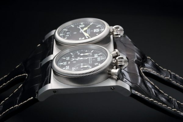 Chronoswiss Wristmaster Chronograph Watch CH-2703 - Baer & Bosch Auctioneers