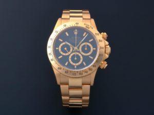 Lot #11539 – Rolex Zenith Daytona Cosmograph Inverted 6 Watch 16528 16528 Rolex