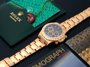 Rolex Daytona Cosmograph Watch 16528 - Baer & Bosch Auctioneers
